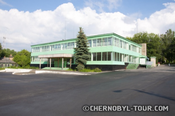 """Кафе """"Припять"""" в Чернобыле фото"""
